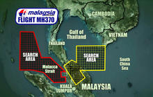 Confusion clouds search for Malaysia Airlines jet