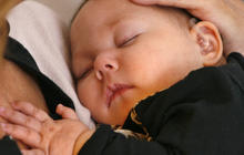 The benefits of cuddling babies