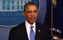 "Obama says U.S. will ""stand firm"" in support of Ukraine, expands sanctions on Russia"