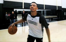 Google Glass showing NBA from a new perspective