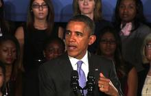 """Obama describes his """"personal stake"""" in women's equality"""