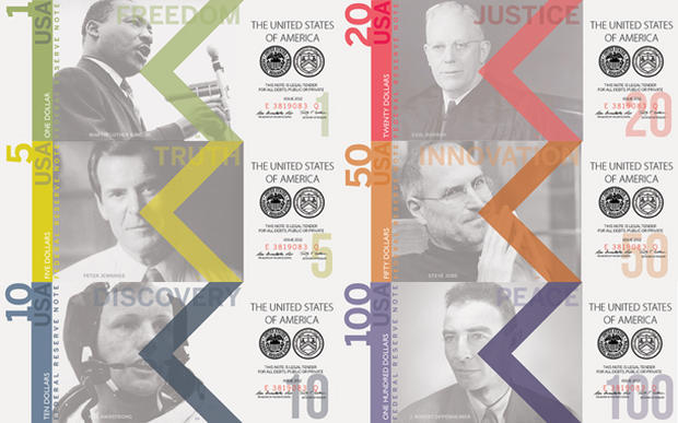 Alternative designs for U.S. currency
