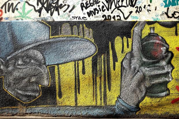 Brazil's legal graffiti