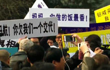 Flight 370 family members protest, demand answers