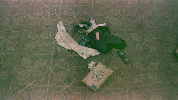 Kurt Cobain death scene photos