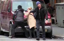 Sam Worthington and girlfriend in scuffle with paparazzo