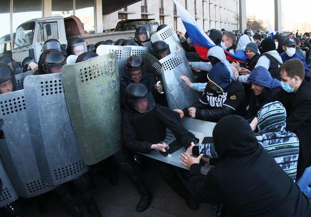 Eastern Ukrainian region declares independence