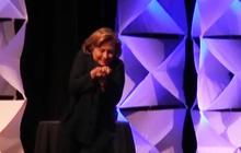 Shoe thrown at Hillary Clinton