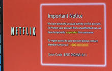 Netflix customers targeted in phishing, tech support scam