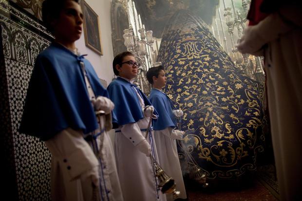 Spaniards celebrate Holy Week