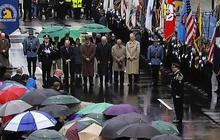 Boston Marathon bombing moment of silence