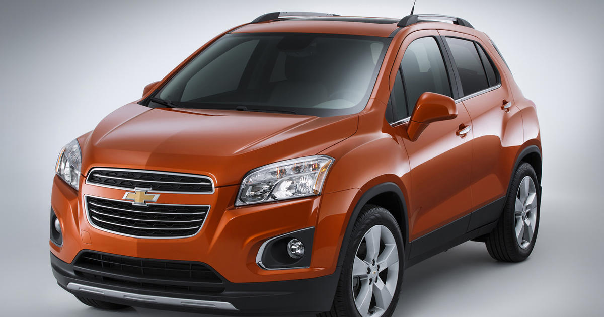 general motors adds a subcompact suv to its lineup cbs news. Black Bedroom Furniture Sets. Home Design Ideas