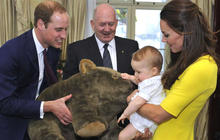 Royals down under: William, Kate and baby George arrive in Australia
