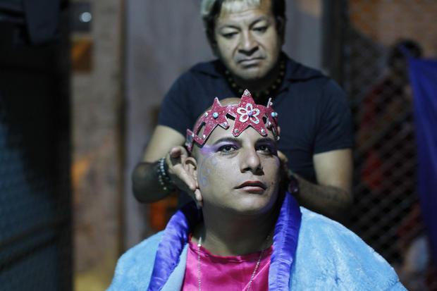 """Prisoners stage """"Jesus Christ Superstar"""" in Peru"""