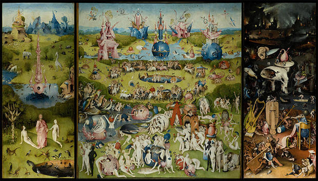 Artistic visions of heaven and hell