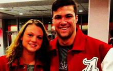 University swimmer died saving girlfriend from Alabama tornado