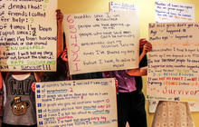 Sex assault by the numbers: Project helps survivors tell stories