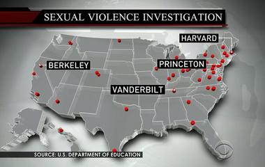 Fifty-five colleges face sexual violence investigations