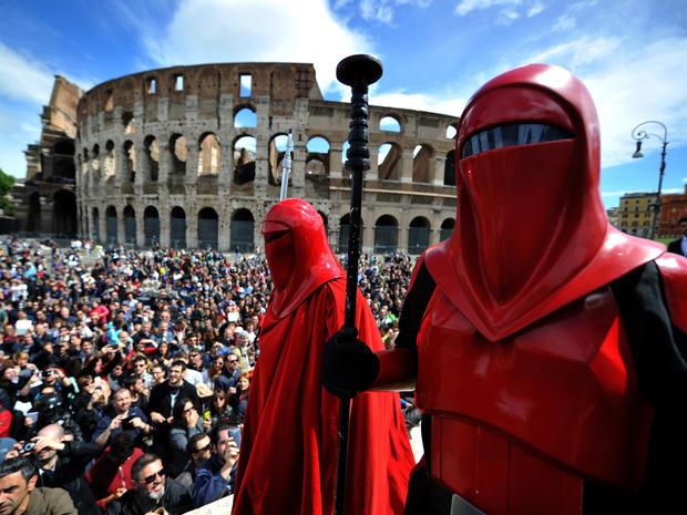 Fans celebrate Star Wars Day