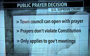Supreme Court allows prayers before government meetings