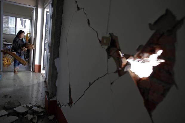 Earthquake hits Thailand