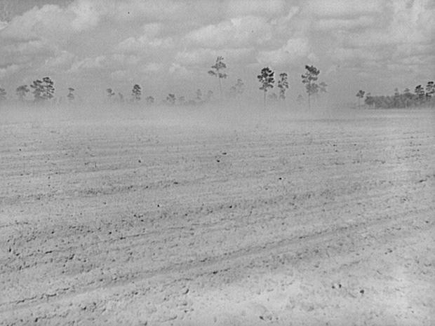 Depression-era dust storms