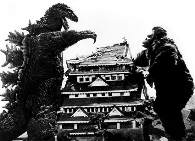 Giant movie monsters