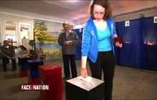 Eastern Ukrainians vote on secession