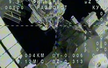 Watch: Soyuz undocks from International Space Station