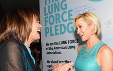 Valerie Harper, Kellie Pickler join forces for lung cancer campaign