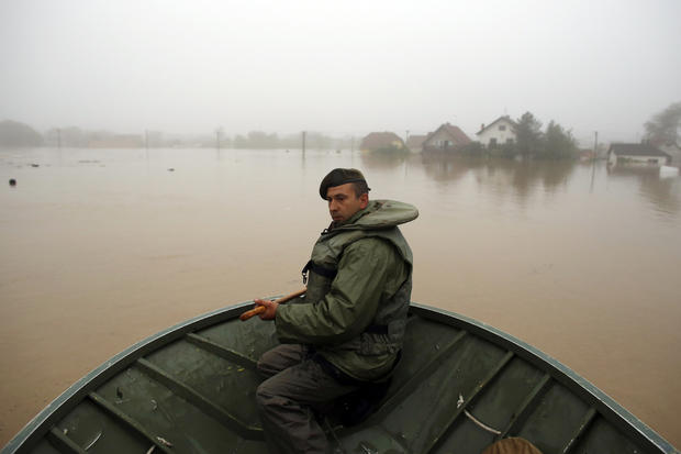 Deadly floods in the Balkans