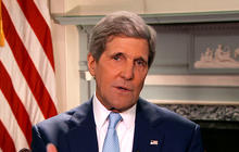 "Secretary of State John Kerry says Edward Snowden should ""man up"""