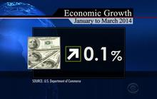 U.S. economy shrinks for first time in three years