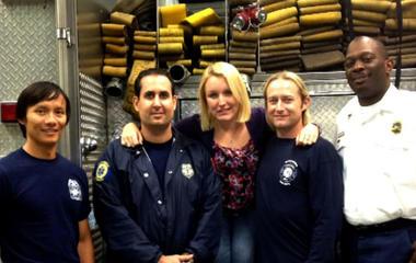 Attack survivor Melissa Dohme thanks her heroes