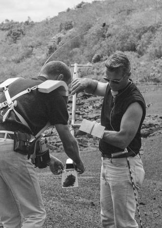 Rare NASA photos of Apollo astronauts training in Hawaii