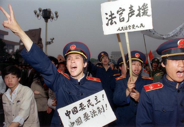 Looking back at Tiananmen Square
