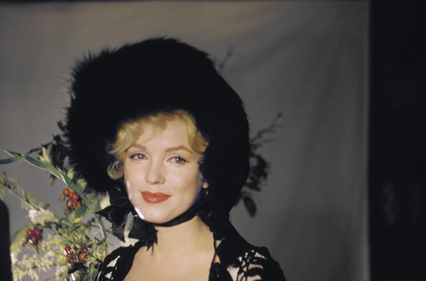 A rare look at Marilyn Monroe