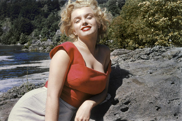 A rare look at Marilyn Monroe