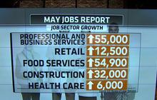 May jobs report shows hiring remains strong