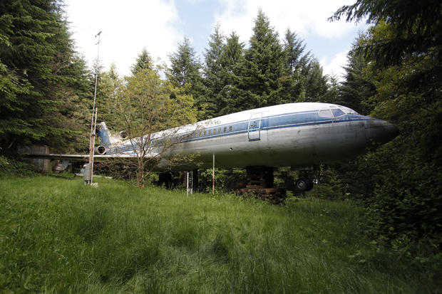 Portland man lives in a Boeing 727