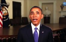 "Obama: ""Happy Father's Day"""