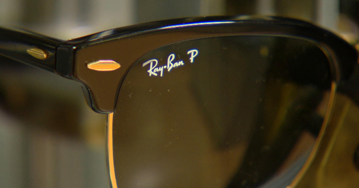 Expensive Sunglasses Brands  sticker shock why are glasses so expensive cbs news