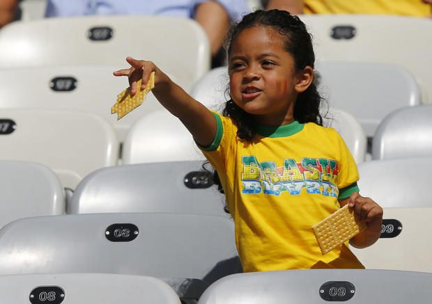 Young World Cup fans