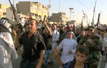 U.S. military advisers begin mission in Baghdad