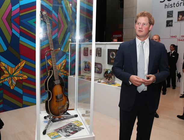 Prince Harry visits Brazil