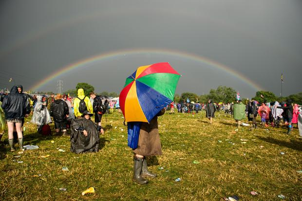 All the cool kids come out for Glastonbury