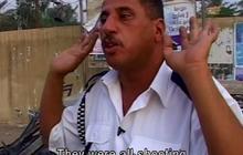 Eyewitness tells story of mass shooting in Baghdad