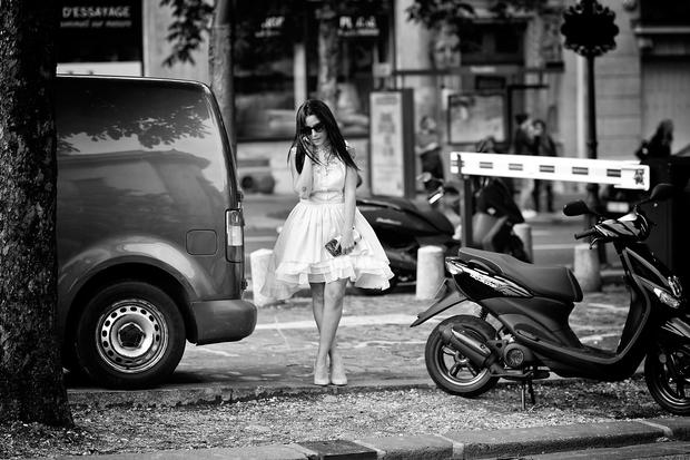 Behind the scenes at Paris Fashion Week