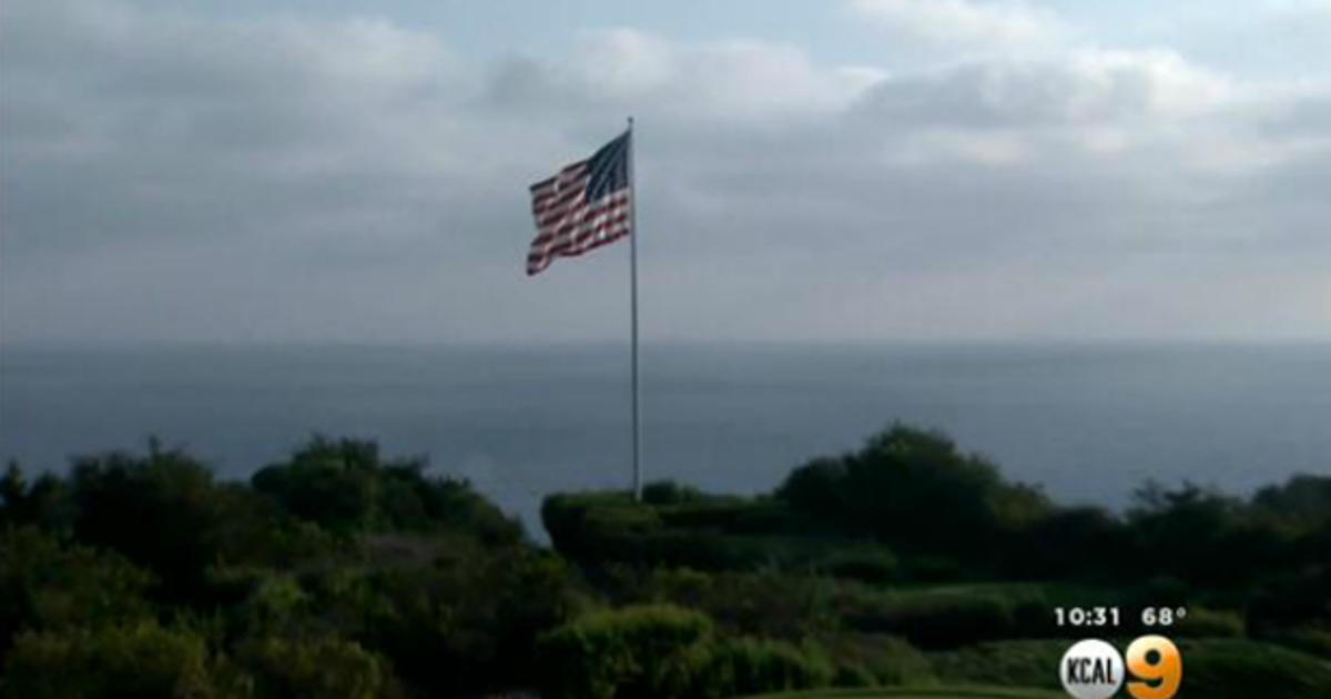 """Trump on flag standoff at his Calif. golf course: """"I will fight for ..."""