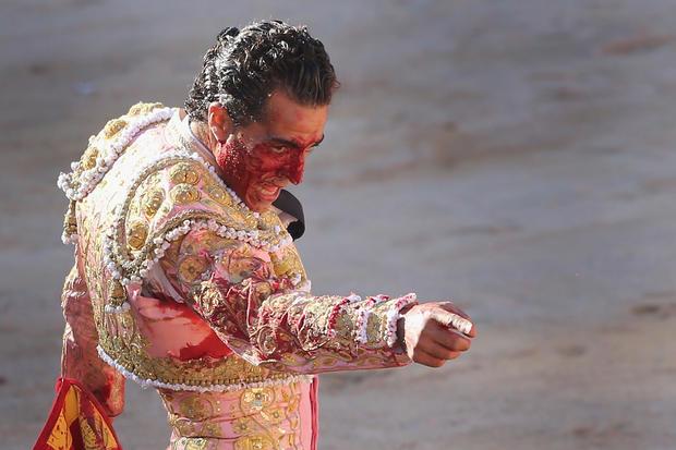 Bulls vs. Men in Spain